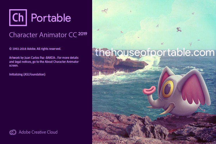 adobe character animator cc 2019 portable
