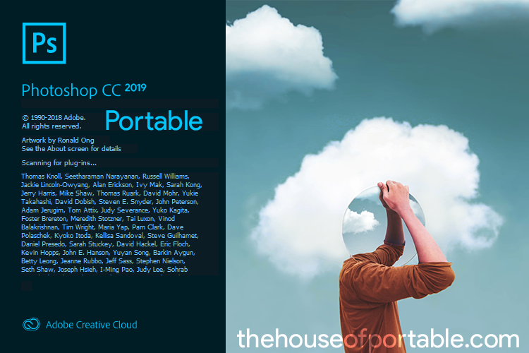 Adobe Photoshop CC 2019 Portable (v20 0 5) [Camera Raw 11